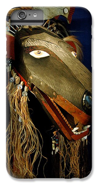 Indian Animal Mask IPhone 6s Plus Case by LeeAnn McLaneGoetz McLaneGoetzStudioLLCcom