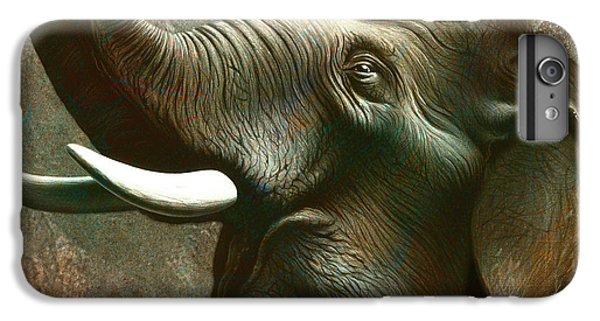 Trumpet iPhone 6s Plus Case - Indian Elephant 2 by Jerry LoFaro