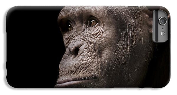 Chimpanzee iPhone 6s Plus Case - Indignant by Paul Neville