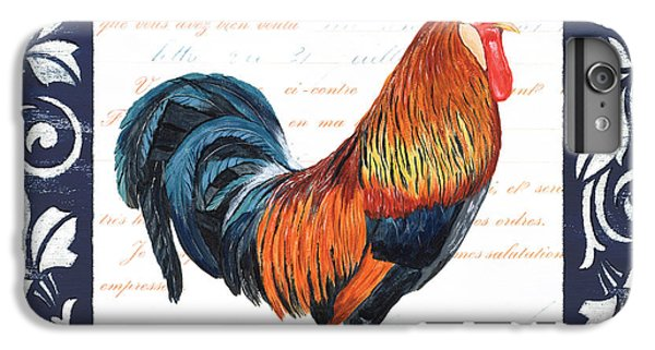 Indigo Rooster 1 IPhone 6s Plus Case by Debbie DeWitt