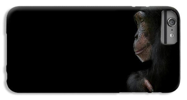 Chimpanzee iPhone 6s Plus Case - Innocence by Paul Neville
