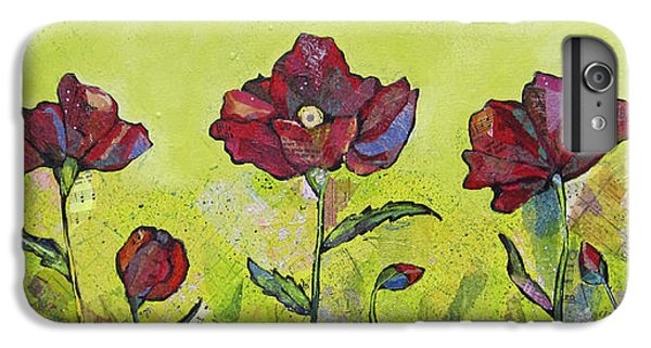 Scarlet iPhone 6s Plus Case - Intensity Of The Poppy I by Shadia Derbyshire
