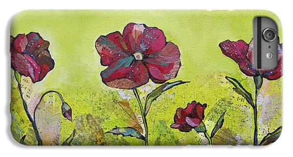 Scarlet iPhone 6s Plus Case - Intensity Of The Poppy II by Shadia Derbyshire
