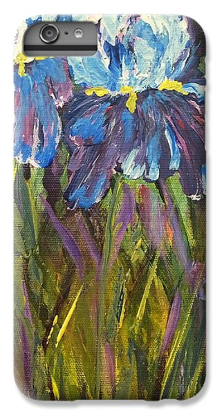 Iris Floral Garden IPhone 6s Plus Case by Claire Bull