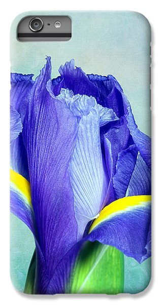 Iris Flower Of Faith And Hope IPhone 6s Plus Case by Tom Mc Nemar