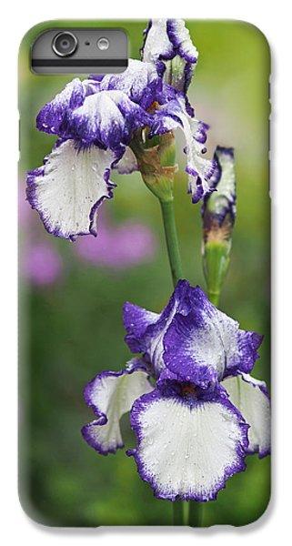 Iris Loop The Loop  IPhone 6s Plus Case by Rona Black