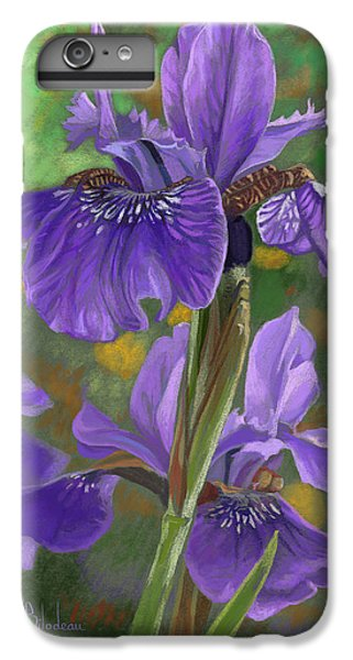 Irises IPhone 6s Plus Case by Lucie Bilodeau