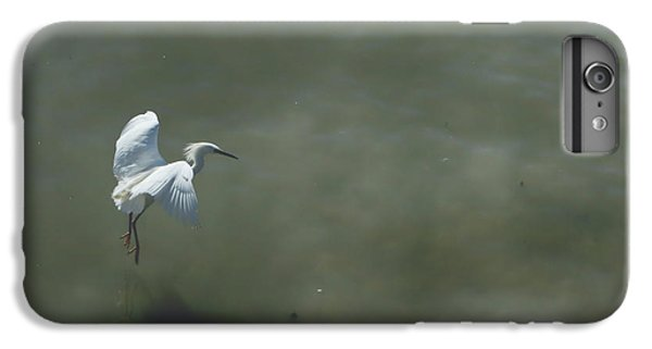 Egret iPhone 6s Plus Case - It's All In The Takeoff by Laurie Search