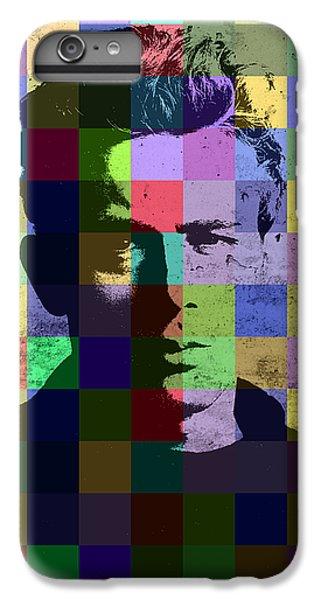 James Dean Actor Hollywood Pop Art Patchwork Portrait Pop Of Color IPhone 6s Plus Case by Design Turnpike