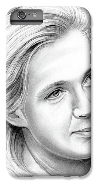 Ape iPhone 6s Plus Case - Jane Goodall by Greg Joens