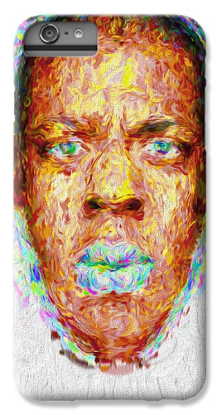 Jay Z Painted Digitally 2 IPhone 6s Plus Case