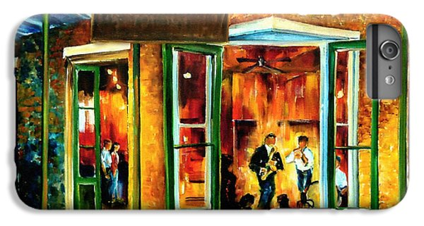 Jazz iPhone 6s Plus Case - Jazz At The Maison Bourbon by Diane Millsap
