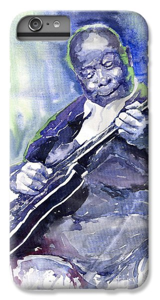 Jazz iPhone 6s Plus Case - Jazz B B King 02 by Yuriy Shevchuk