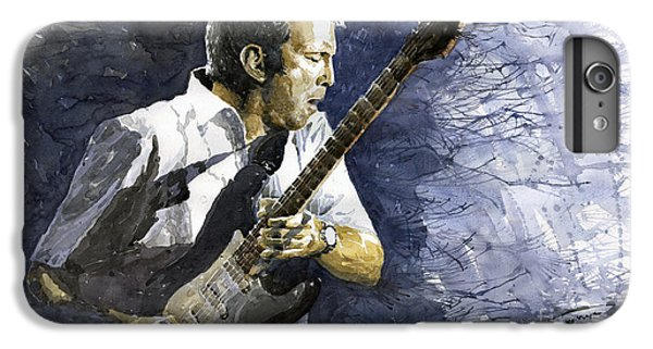 Musicians iPhone 6s Plus Case - Jazz Eric Clapton 1 by Yuriy Shevchuk