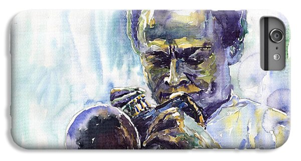 Jazz iPhone 6s Plus Case - Jazz Miles Davis 10 by Yuriy Shevchuk