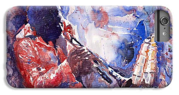 Jazz Miles Davis 15 IPhone 6s Plus Case by Yuriy  Shevchuk