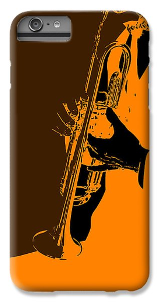 Saxophone iPhone 6s Plus Case - Jazz by Naxart Studio