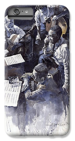 Broadway iPhone 6s Plus Case - Jazz Parker Tristano Bauer Safransky Rca Studio Ny 1949 by Yuriy Shevchuk