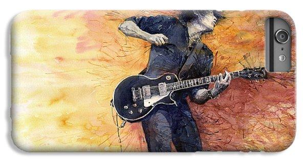 Jazz iPhone 6s Plus Case - Jazz Rock Guitarist Stone Temple Pilots by Yuriy Shevchuk