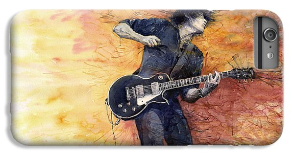 Guitar iPhone 6s Plus Case - Jazz Rock Guitarist Stone Temple Pilots by Yuriy Shevchuk