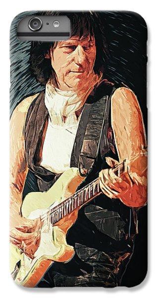 Eric Clapton iPhone 6s Plus Case - Jeff Beck by Taylan Soyturk