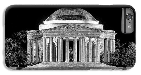 Jefferson Memorial Lonely Night IPhone 6s Plus Case by Olivier Le Queinec