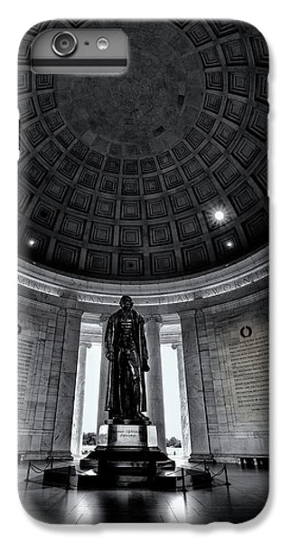 Jefferson Memorial iPhone 6s Plus Case - Jefferson Statue In The Memorial by Andrew Soundarajan