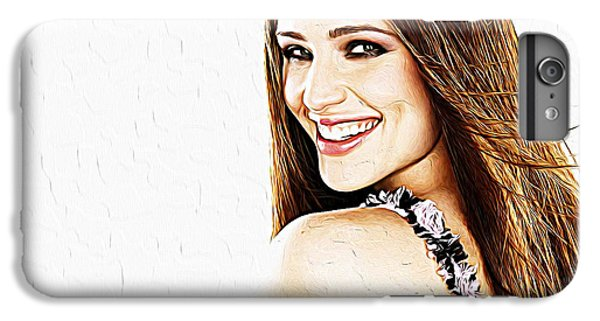 Jennifer Garner IPhone 6s Plus Case by Iguanna Espinosa