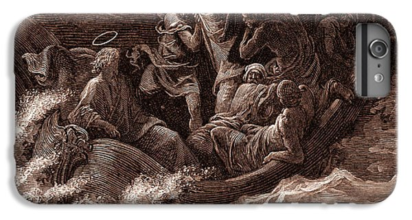 Jesus Stilling The Tempest IPhone 6s Plus Case by Gustave Dore