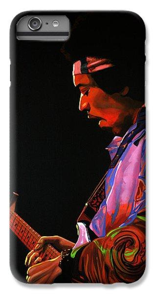 Knight iPhone 6s Plus Case - Jimi Hendrix 4 by Paul Meijering