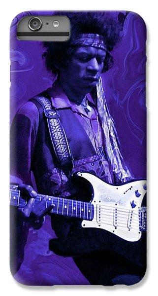Guitar iPhone 6s Plus Case - Jimi Hendrix Purple Haze by David Dehner