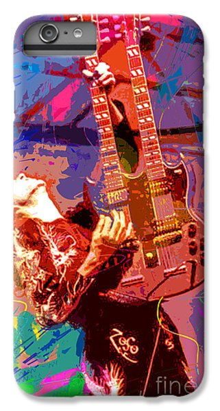 Jimmy Page Stairway To Heaven IPhone 6s Plus Case by David Lloyd Glover