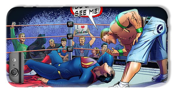 John Cena Vs Superman IPhone 6s Plus Case by Khaled Alsabouni