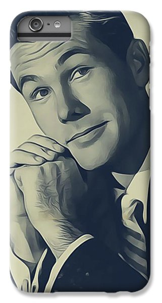 Johnny Carson iPhone 6s Plus Case - Johnny Carson, Vintage Entertainer by John Springfield