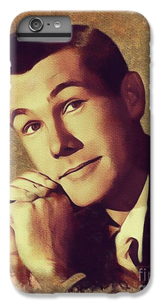 Johnny Carson iPhone 6s Plus Case - Johnny Carson, Vintage Entertainer by Mary Bassett