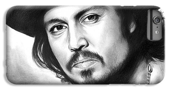 Johnny Depp IPhone 6s Plus Case by Greg Joens