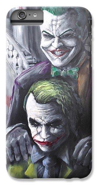 Jokery In Wayne Manor IPhone 6s Plus Case by Tyler Haddox
