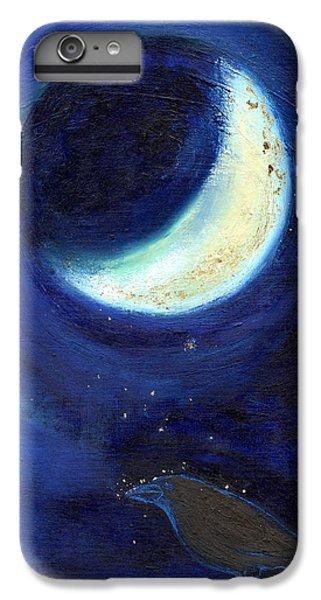 July Moon IPhone 6s Plus Case by Nancy Moniz