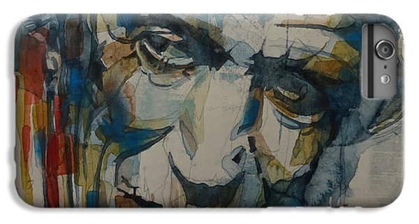 Musicians iPhone 6s Plus Case - Keith Richards Art by Paul Lovering