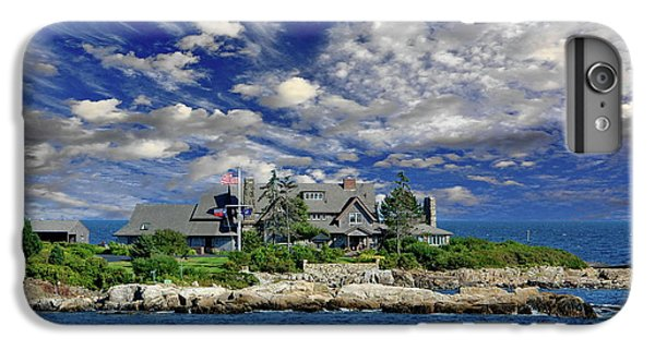 Kennebunkport, Maine - Walker's Point IPhone 6s Plus Case by Russ Harris