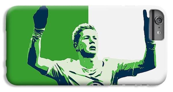 Kevin De Bruyne IPhone 6s Plus Case by Semih Yurdabak