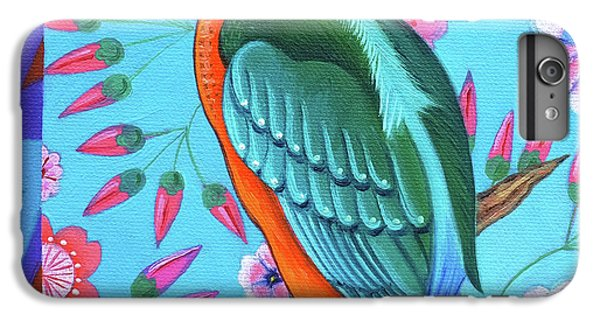 Kingfisher IPhone 6s Plus Case by Jane Tattersfield