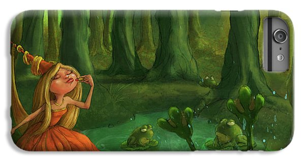 Castle iPhone 6s Plus Case - Kissing Frogs by Andy Catling