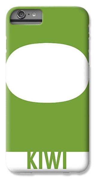 Kiwi iPhone 6s Plus Case - Kiwi Food Art Minimalist Fruit Poster Series 020 by Design Turnpike
