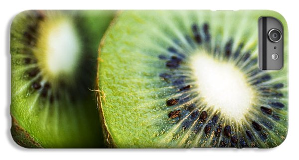 Kiwi iPhone 6s Plus Case - Kiwi Fruit Halves by Ray Laskowitz - Printscapes