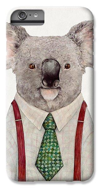 Portraits iPhone 6s Plus Case - Koala by Animal Crew