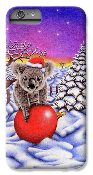 Koala On Christmas Ball IPhone 6s Plus Case
