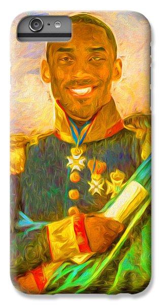 Kobe Bryant Floor General Digital Painting La Lakers IPhone 6s Plus Case