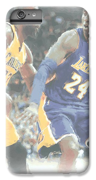 Kobe Bryant Lebron James 2 IPhone 6s Plus Case