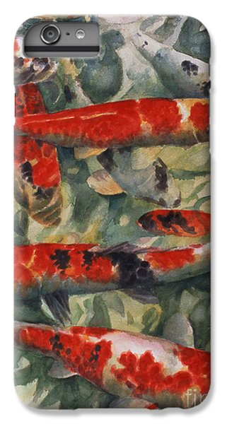 Koi Karp IPhone 6s Plus Case by Gareth Lloyd Ball